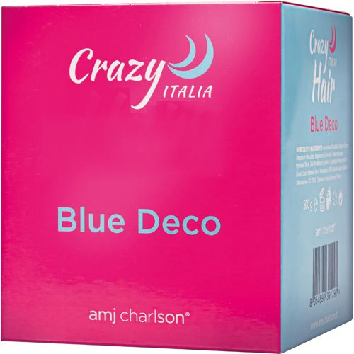 CRAZY HAIR ITALIA BLUE DECO - AMJ CHARLSON