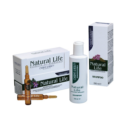 NATURAL LIFE: coadiuvante anticaduta - CHARME & BEAUTY