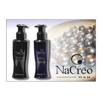 NACRÈO MAN - BLACK biserov in srebra GEL