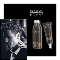 L' Oreal Professionnel Homme - FIBERBOOST y SOIN FIBERFUEL - L OREAL PROFESSIONNEL - LOREAL