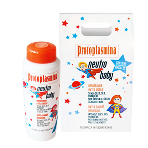 SÆRLIGE PROTOPLASMINA: NEUTROBABY SHAMPOO - FARMACA INTERNATIONAL